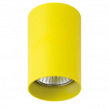 Потолочный светильник с регулировкой направления света Lightstar Rullo 214433, 1xGU10x50W, желтый, металл