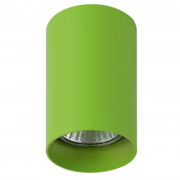 Потолочный светильник с регулировкой направления света Lightstar Rullo 214434, 1xGU10x50W, зеленый, металл