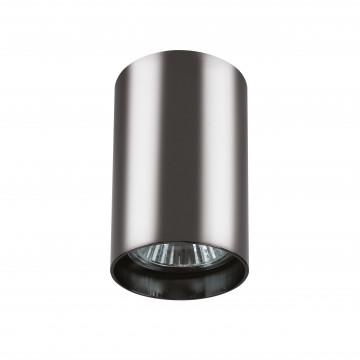 Потолочный светильник с регулировкой направления света Lightstar Rullo 214438, 1xGU10x50W, черный хром, металл