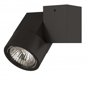 Потолочный светильник с регулировкой направления света Lightstar Illumo X1 051027, 1xGU10x50W, черный, металл
