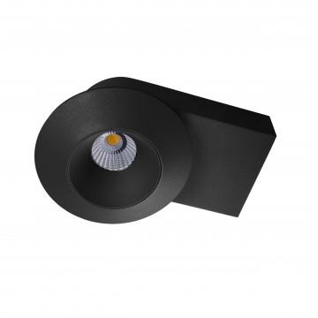 Потолочный светодиодный светильник с регулировкой направления света Lightstar Orbe 051217, LED 15W 4000K 1240lm, черный, металл