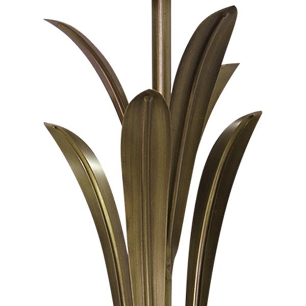 Торшер Lightstar Antique 783711, 1xE27x40W, бронза, бежевый, металл с хрусталем, текстиль - фото 5