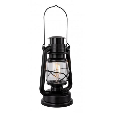 Садовый светодиодный светильник Globo Certaldo 28207, LED 0,5W, черный, пластик