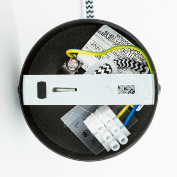 Бра Nowodvorski Simple 6973, 1xE27x60W, черный, металл - миниатюра 3