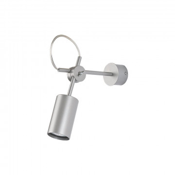 Настенный светильник Nowodvorski Eye S 5656, 1xGU10x35W, серебро, металл