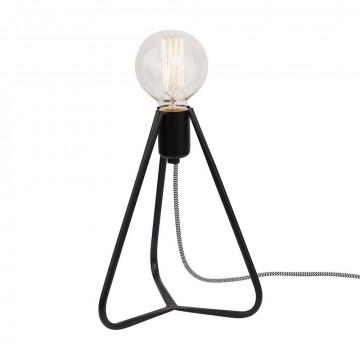 Настольная лампа Nowodvorski Simple 6975, 1xE27x60W, черный, металл