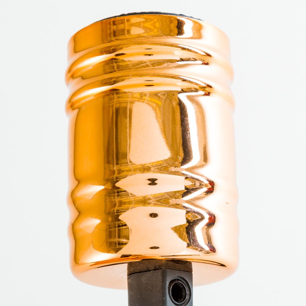 Подвесная люстра Nowodvorski Cable Black-Copper 9746, 7xE27x60W, медь, черный, металл - фото 3