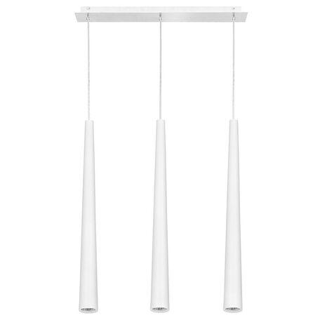 Подвесной светильник Nowodvorski Quebeck 5404, 3xGU10x35W, белый, металл - миниатюра 1
