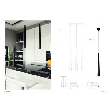 Подвесной светильник Nowodvorski Quebeck 5404, 3xGU10x35W, белый, металл - миниатюра 2