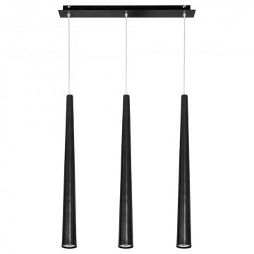 Подвесной светильник Nowodvorski Quebeck 5406, 3xGU10x35W, черный, металл
