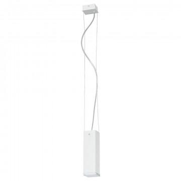 Подвесной светильник Nowodvorski Bryce 5673, 1xGU10x35W, белый, металл, стекло