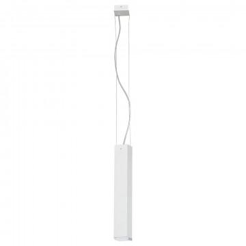 Подвесной светильник Nowodvorski Bryce 5674, 1xGU10x35W, белый, металл, стекло