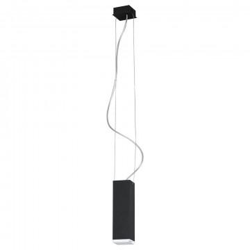 Подвесной светильник Nowodvorski Bryce 5676, 1xGU10x35W, серый, металл, стекло