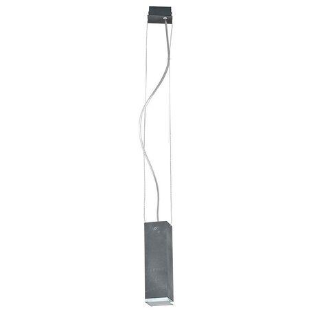 Подвесной светильник Nowodvorski Bryce 5680, 1xGU10x35W, серый, металл, стекло