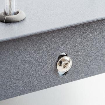 Подвесной светильник Nowodvorski Bryce 5682, 1xGU10x35W, серый, металл, стекло - миниатюра 5
