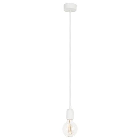 Подвесной светильник Nowodvorski Silicone 6403, 1xE27x60W, белый, пластик