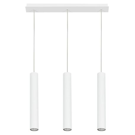Подвесной светильник Nowodvorski Eye 6481, 3xGU10x35W, белый, металл