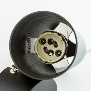 Подвесной светильник Nowodvorski Eye M 6840, 1xGU10x35W, черный, металл - миниатюра 3