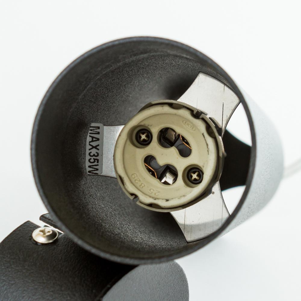 Подвесной светильник Nowodvorski Eye M 6840, 1xGU10x35W, черный, металл - фото 3