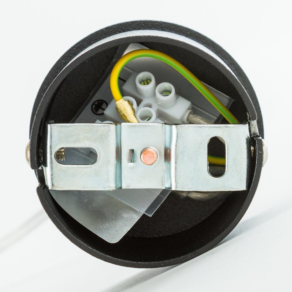 Подвесной светильник Nowodvorski Eye L 6841, 1xGU10x35W, черный, металл - фото 4