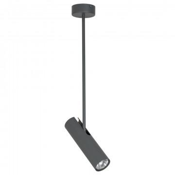 Подвесной светильник с регулировкой направления света Nowodvorski Eye Super A 6495, 1xGU10x35W, серый, металл