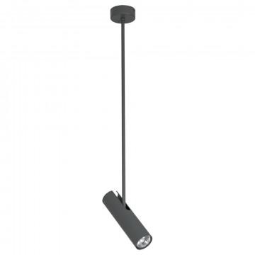 Подвесной светильник с регулировкой направления света Nowodvorski Eye Super B 6496, 1xGU10x35W, серый, металл