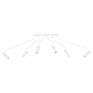 Потолочная люстра с регулировкой направления света Nowodvorski Eye Super 6492, 6xGU10x35W, белый, металл