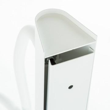 Потолочный светильник с регулировкой направления света Nowodvorski Flex 9773, 3xE27x60W, белый, металл, пластик - миниатюра 5