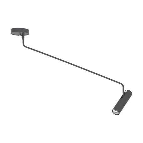 Потолочный светильник с регулировкой направления света Nowodvorski Eye Super C 6631, 1xGU10x35W, серый, металл