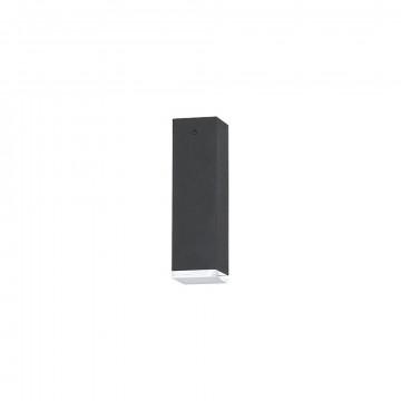 Потолочный светильник Nowodvorski Bryce 5708, 1xGU10x35W, прозрачный, серый, металл, стекло