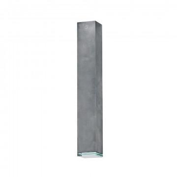 Потолочный светильник Nowodvorski Bryce 5720, 1xGU10x35W, прозрачный, серый, металл, стекло