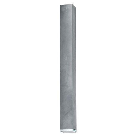 Потолочный светильник Nowodvorski Bryce 5721, 1xGU10x35W, прозрачный, серый, металл, стекло