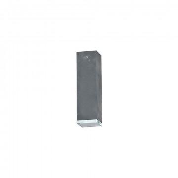 Потолочный светильник Nowodvorski Bryce 5718, 1xGU10x35W, прозрачный, серый, металл, стекло
