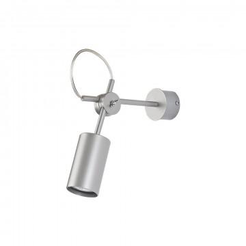 Потолочный светильник с регулировкой направления света Nowodvorski Eye S 5656, 1xGU10x35W, серебро, металл