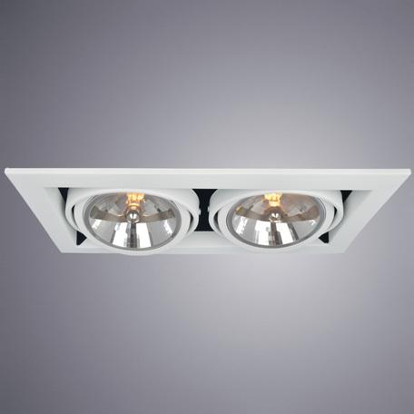 Arte Lamp Cardani Grande A5935PL-2WH, 2xG53x50W, белый