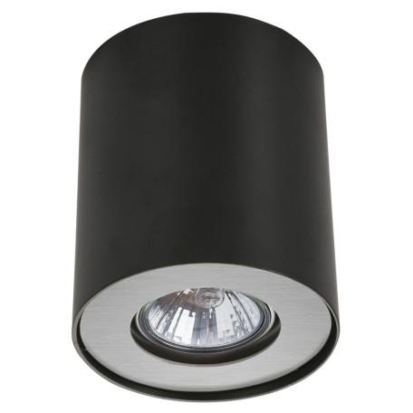 Потолочный светильник Arte Lamp Instyle Falcon A5633PL-1BK, 1xGU10x50W, черный, металл