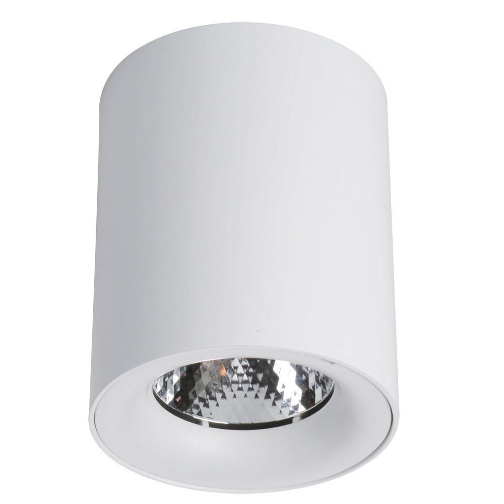 Потолочный светодиодный светильник Arte Lamp Instyle Facile A5112PL-1WH, LED 12W 3000K 1900lm CRI≥80, белый, металл - фото 1