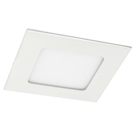 Встраиваемая светодиодная панель Arte Lamp Instyle Fine A2406PL-1WH, белый, металл со стеклом/пластиком, металл с пластиком, пластик