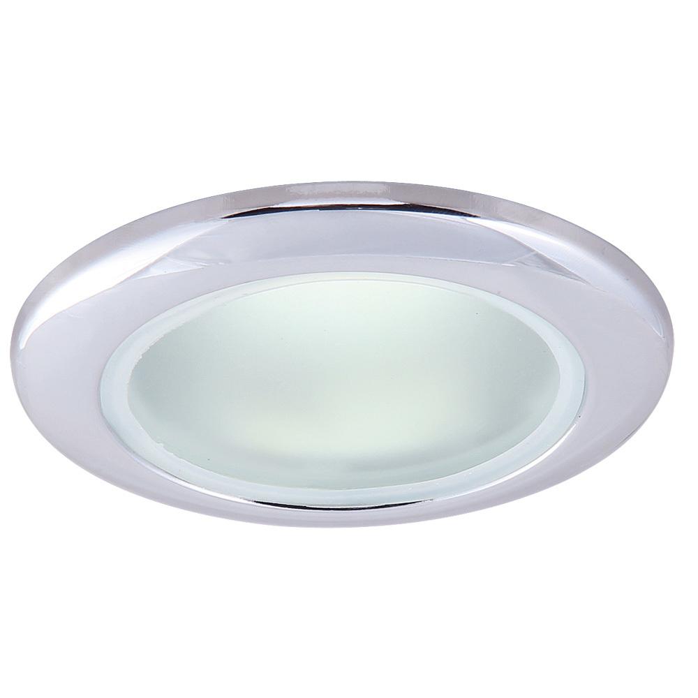 Встраиваемый светильник Arte Lamp Instyle Aqua A2024PL-1CC, IP44, 1xGU10x50W, хром, металл, стекло - фото 1