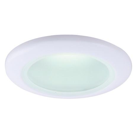 Встраиваемый светильник Arte Lamp Instyle Aqua A2024PL-1WH, IP44, 1xGU10x50W, белый, металл, стекло