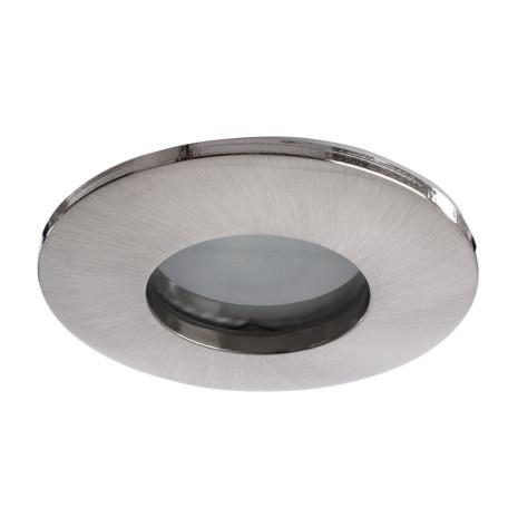 Встраиваемый светильник Arte Lamp Instyle Aqua A5440PL-1SS, IP44, 1xGU10x50W, серебро, металл, стекло