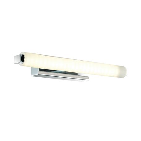 Настенный светодиодный светильник Odeon Light Fris 4618/8WL, IP44, LED 8W 4000K 917lm, хром, белый, металл, пластик