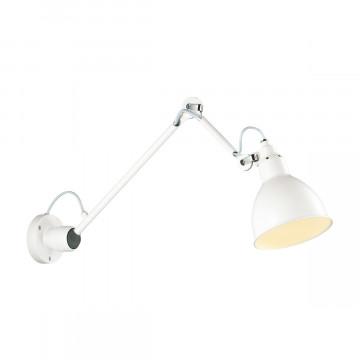 Настольная лампа Odeon Light Arta 4126/1T, 1xE14x40W, белый, металл