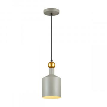 Подвесной светильник Odeon Light Pendant Bolli 4086/1, 1xE27x40W, серый, металл