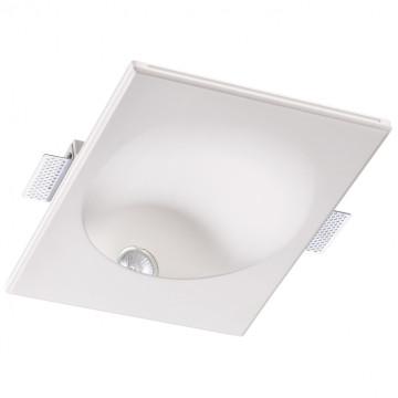 Встраиваемый светильник Novotech Spot Cail 370498, 1xGU10x50W, белый, под покраску, гипс