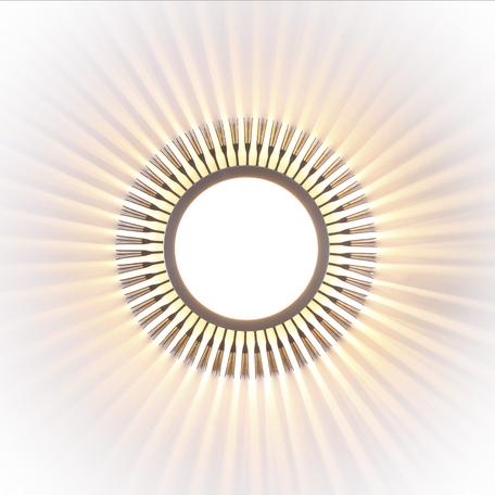 Настенный светодиодный светильник Odeon Light Cielino 3849/5WL 3000K (теплый), серебро, металл, пластик
