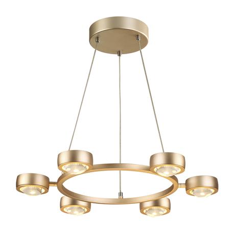 Подвесная люстра Odeon Light 3874/60L, золото, металл