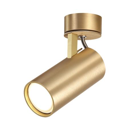 Потолочный светильник с регулировкой направления света Odeon Light Hightech Kiko 3876/1C, 1xGU10x50W, матовое золото, металл