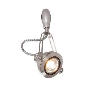 Светильник для гибкой системы Odeon Light Breta 3807/1B, 1xGU10x50W, никель, металл