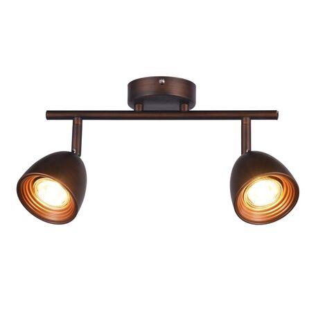 Потолочный светильник с регулировкой направления света Favourite F-Promo Allegra 2394-2U, 2xGU10x50W